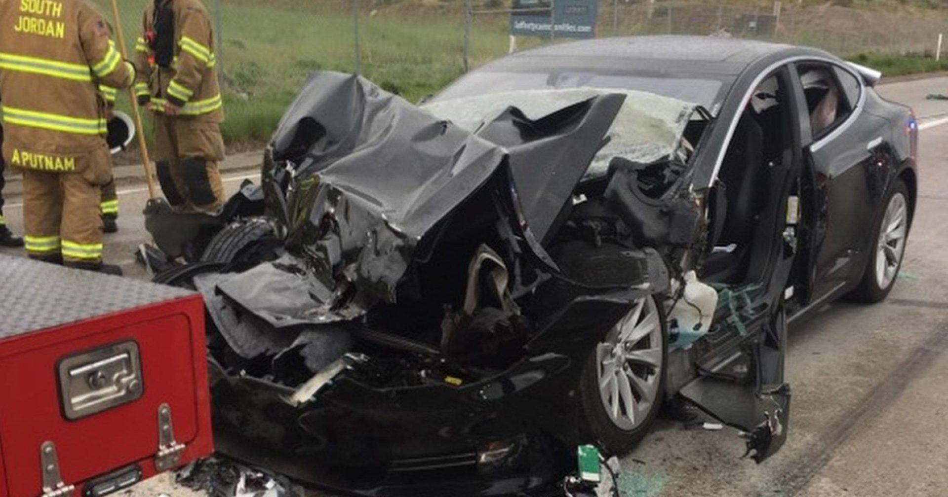 Tesla сообщает данные о катастрофе автопилота в штате Юта 1