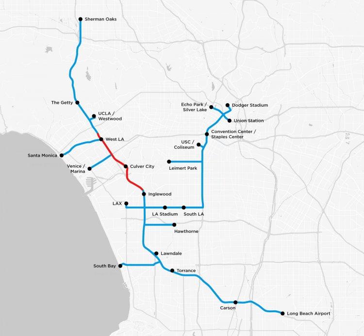 Транспортная система The Boring Company получает поддержку Лос-Анджелеса 5