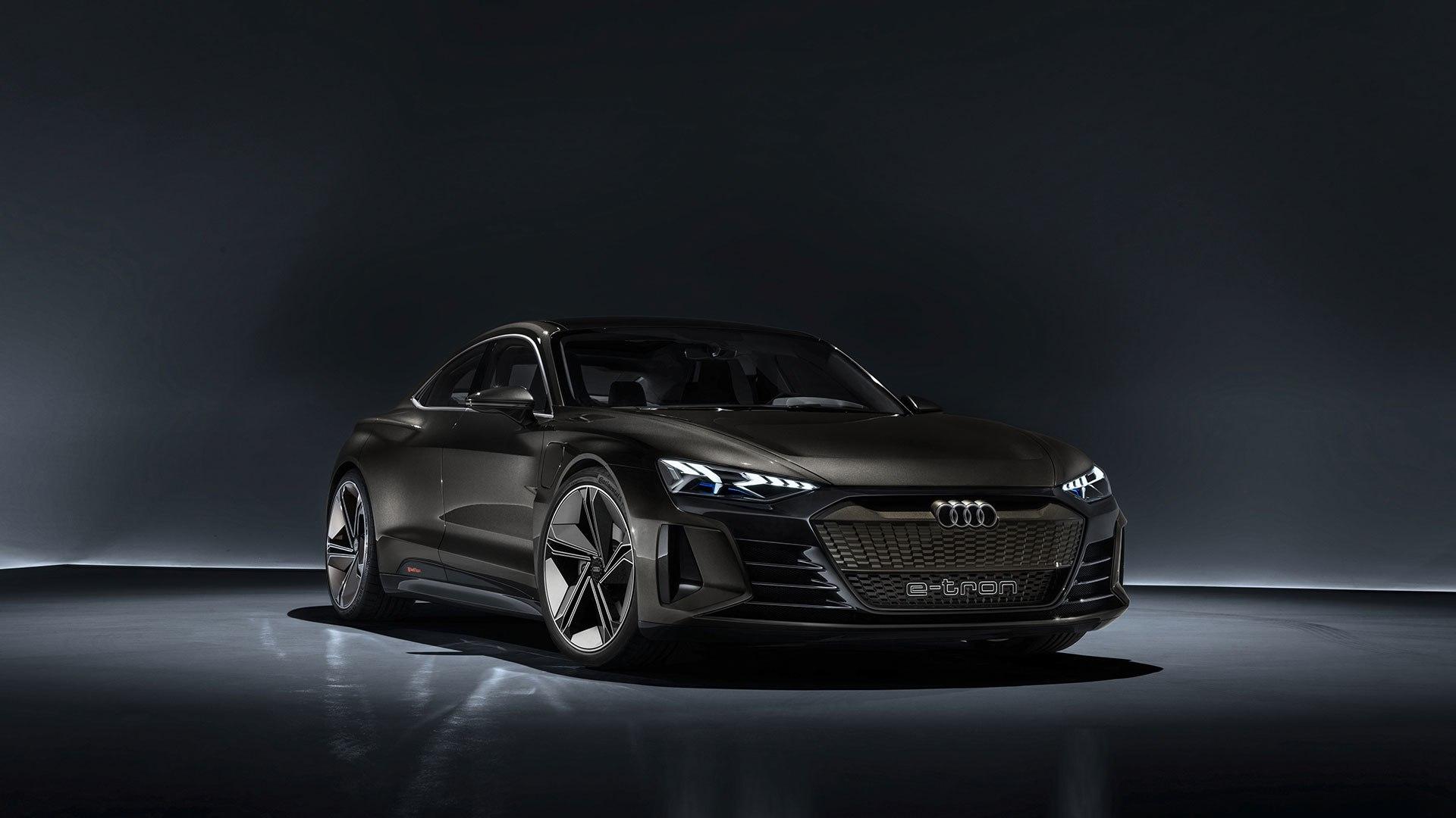 Audi выкатит свой концепт e-tron GT в конце ноября на выставке LA Auto Show 1