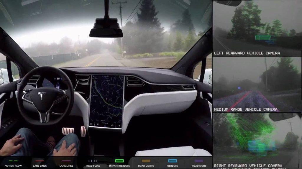 Tesla заявляет о выпуске нового оборудования для автопилота 1