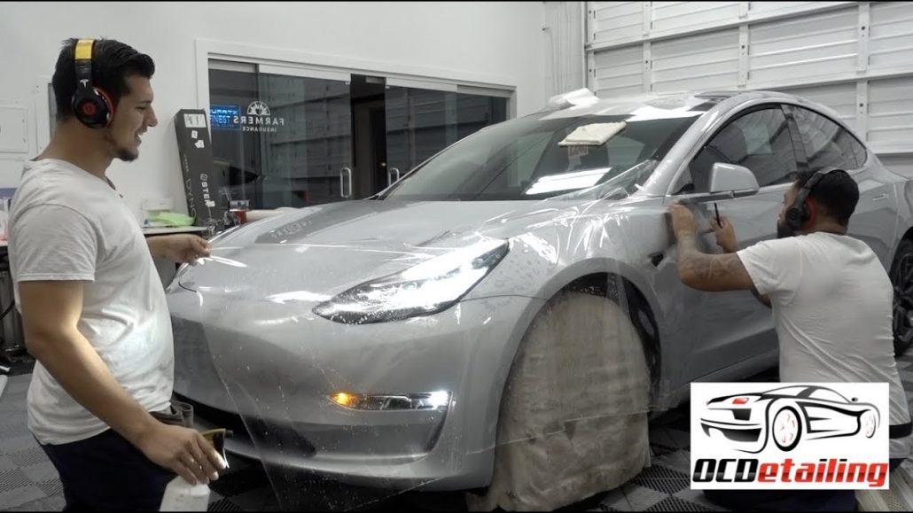 Защитная пленка SunTek Paint: технологически продвинутая защита для отделки Tesla 5